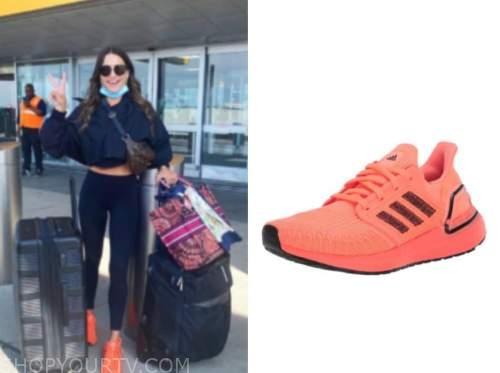 andi dorfman, the bachelorette, orange sneakers
