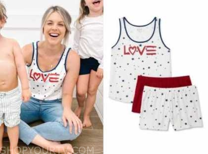 ali fedotowsky, the bachelorette, love heart tank top