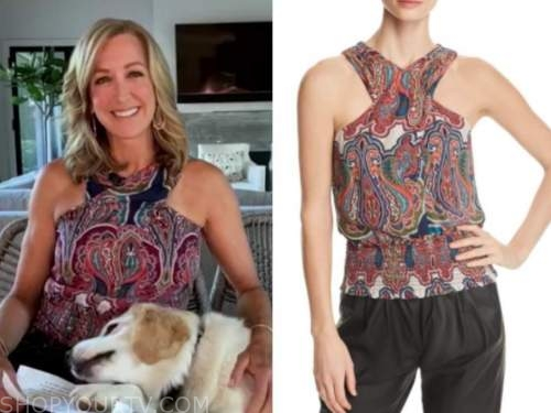 good morning america, paisley top, lara spencer