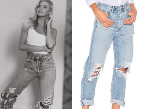 emily ferguson, the bachelor, ripped jeans