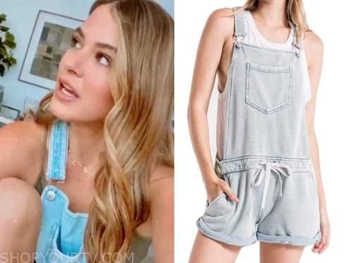 jojo fletcher, the bachelorette, denim short overalls