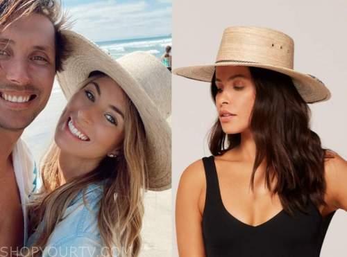 tenley molzahn, the bachelor, straw hat