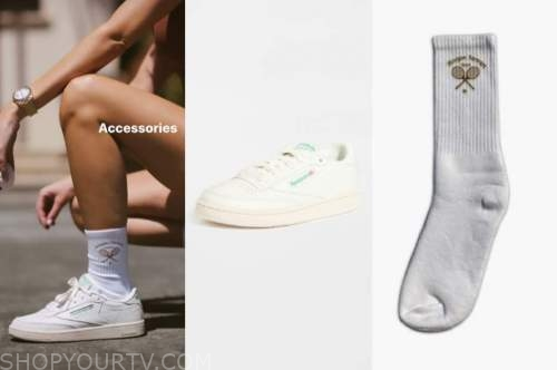 morgan stewart, E! news, sneakers, socks