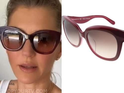 ashlee frazier, the bachelor, burgundy sunglasses
