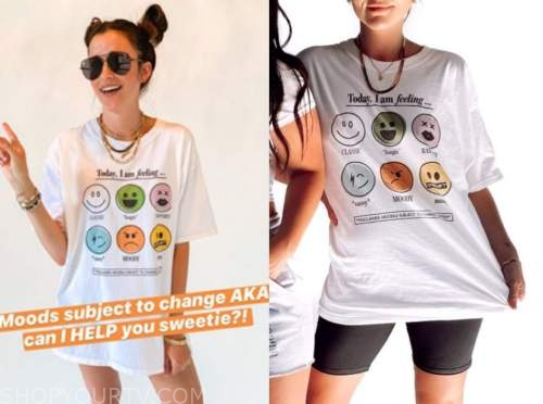 tia booth, the bachelor, emotions graphic tee