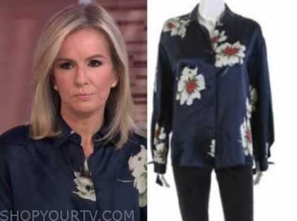 dr. jennifer ashton, good morning america, floral blouse