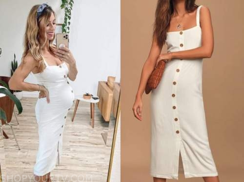 tenley molzahn, the bachelor, white midi dress