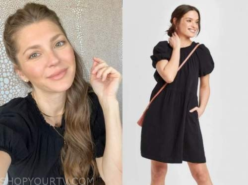 ashlee frazier, black shift dress, the bachelor