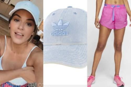 jojo fletcher, the bachelorette, pink running shorts