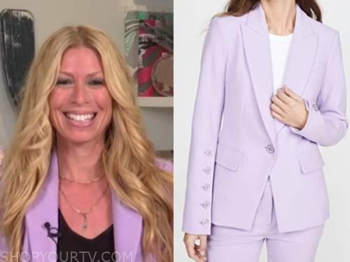 jill martin, the today show, purple blazer