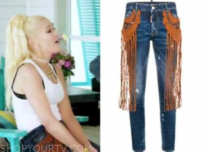 gwen stefani, the today show, fringe jeans