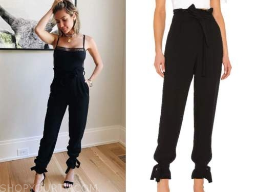 kristin cavallari, black pants