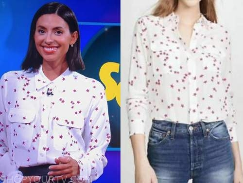 jade catta-preta, the soup, star print blouse