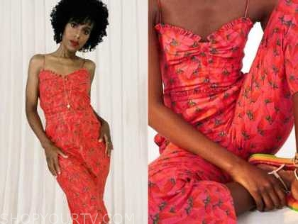 kerry washington, red pepper jumpsuit