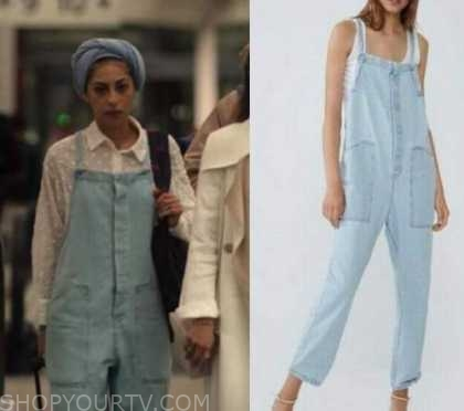 Elite Season 3 Episode 8 Nadia S Blue Denim Overalls Shop Your Tv