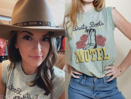 tia booth, graphic tee, the bachelor