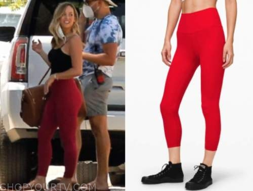clare crawley, the bachelorette, red leggings