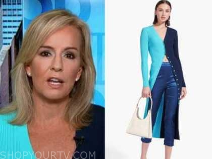 dr. jennifer ashton, blue long cardigan, good morning america