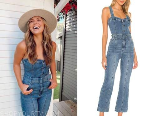 hannah brown, denim jumpsuit, the bachelorette