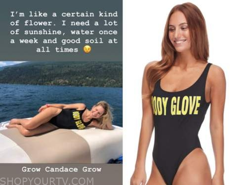 candace cameron bure, black and yellow swimsuit,