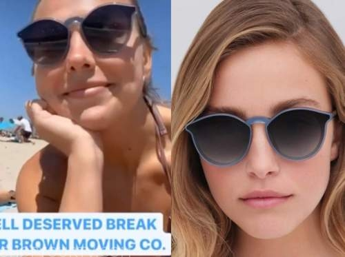 hannah brown, the bachelorette, blue sunglasses