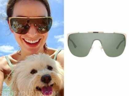 ashley iaconetti, the bachelor, gold sunglasses