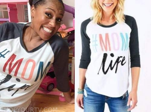 sheinelle jones, the today show, baseball tee