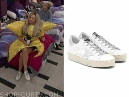 janelle pierzina, big brother all stars, white star sneakers