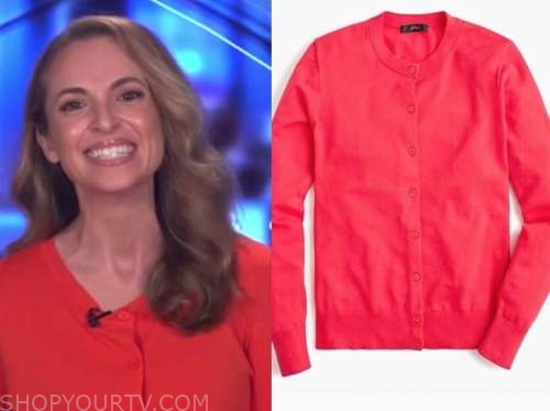 jedediah bila, red cardigan sweater, fox and friends