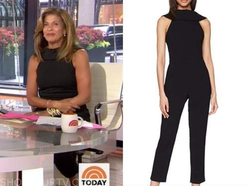hoda kotb, the today show, black jumpsuit