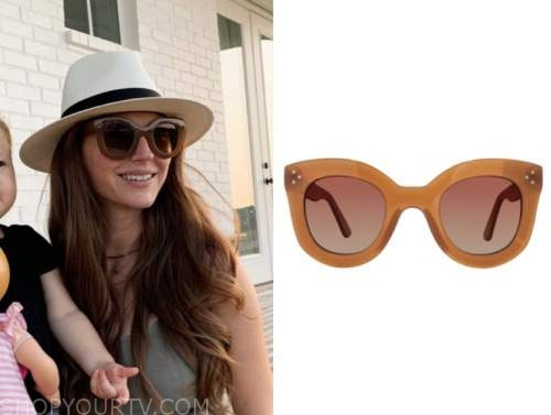 ashlee frazier, brown sunglasses, the bachelor