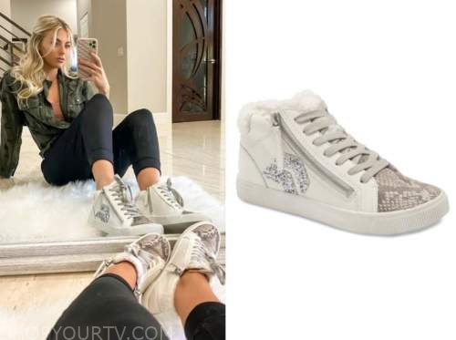 haley ferguson, snakeskin embellished sneakers, the bachelor