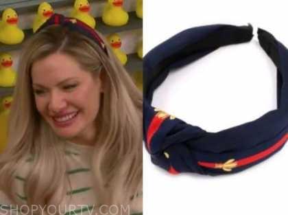 janelle pierzina, stripe knot headband, big brother all stars