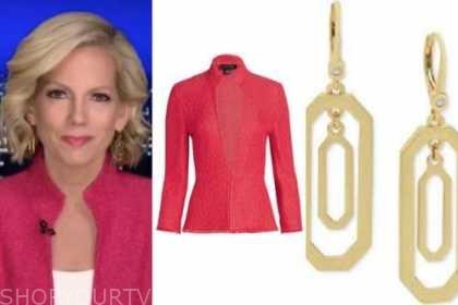 shannon bream, fox news at night, pink jacket
