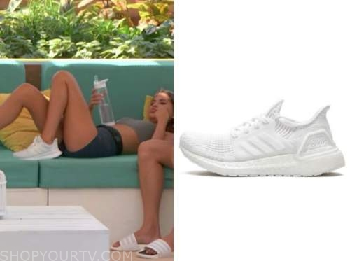 kierstan, love island usa, white sneakers