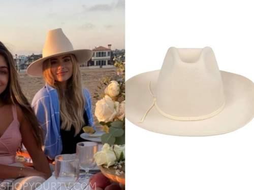 amanda stanton, ivory hat, the bachelor