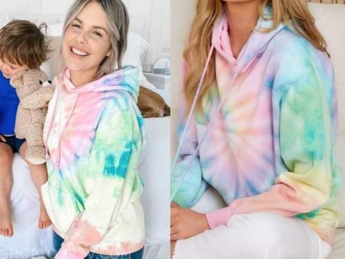 tie dye hoodie, ali fedotowsky, the bachelorette