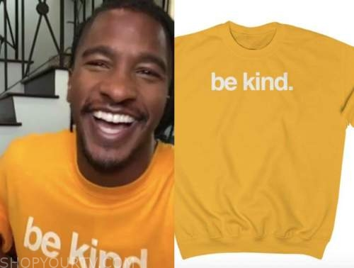 scott evans, the today show, mustard be kind sweater