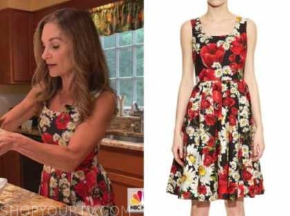 joy bauer, the today show, floral pleated dress