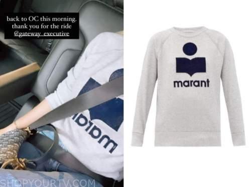 amanda stanton, logo sweatshirt, the bachelor