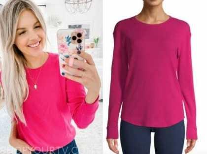 ali fedotowsky, the bachelorette, pink sweater
