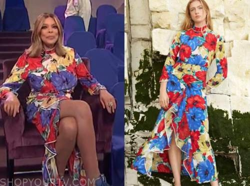 wendy williams, the wendy williams show, floral maxi dress