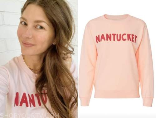 ashlee frazier, the bachelor, nantucket sweatshirt