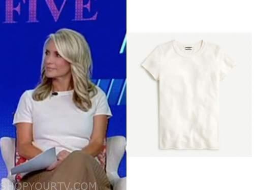 dana perino, white cashmere top, the five