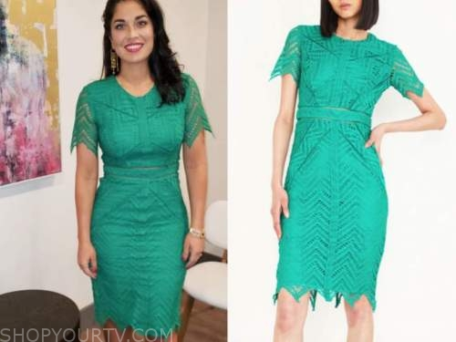 dr. viviana coles, green lace dress, married at first sight, new orleans