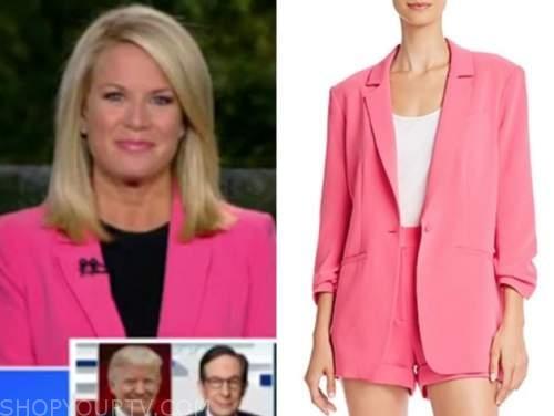 martha maccallum, pink blazer, the five