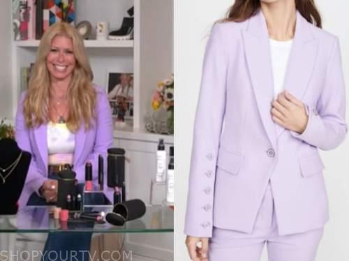 jill martin, purple blazer, the today show