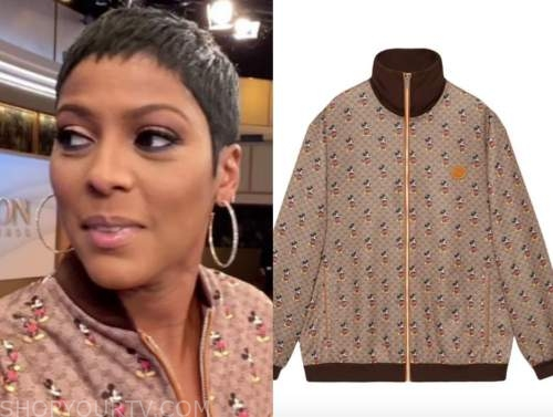 tamron hall, mickey mouse jacket