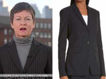 stephanie gosk, pinstripe blazer, the today show