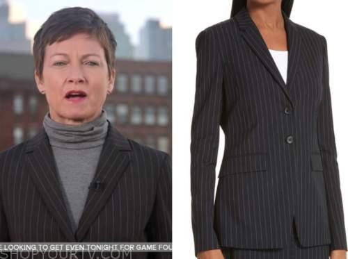 stephanie gosk, pinstripe blazer, the today show